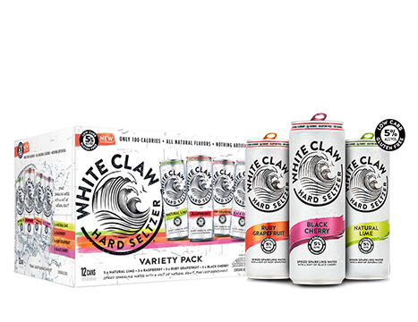 White Claw® Variety Pack - 12pk / 12oz Cans