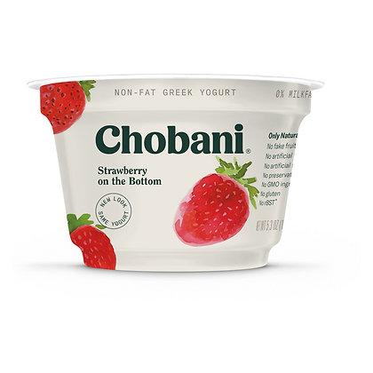 Chobani® Strawberry on the Bottom Non-Fat Greek Yogurt - 5.3oz