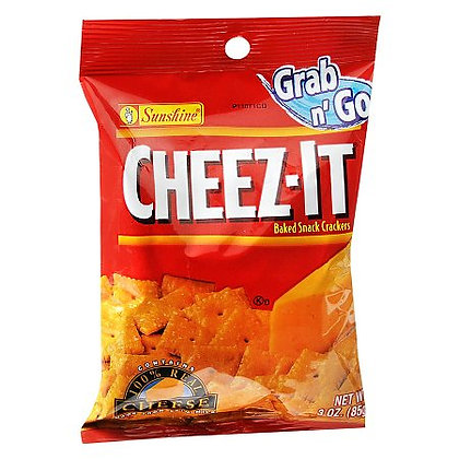 Cheez-It® Grab n' Go Cheddar Baked Snack Crackers 3.0 oz