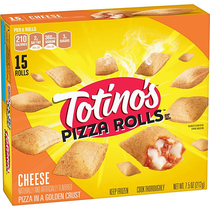 Totino's Cheese Frozen Pizza Rolls - 15ct/7.5oz