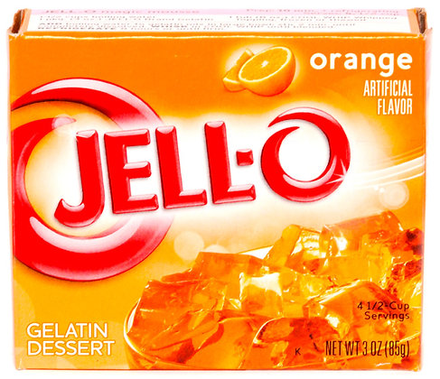 Jell-O® Orange Gelatin - 3oz