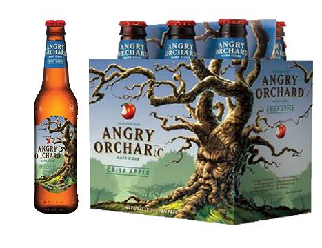 Angry Orchard Crisp Apple Cider 6 Pack 12 oz Bottle