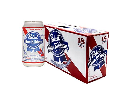 Pabst Blue Ribbon® Beer - 18pk / 12oz Cans