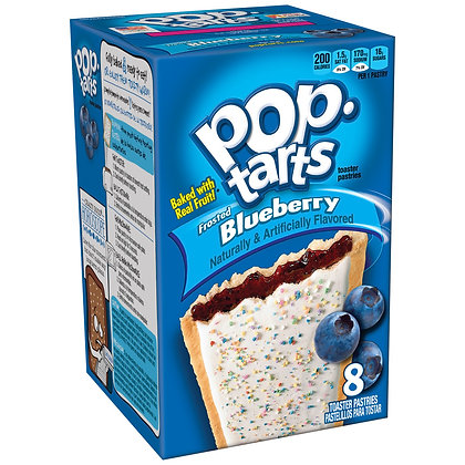 Pop-Tarts Frosted Blueberry Toaster Pastries - 8ct/14.7oz - Kellogg's