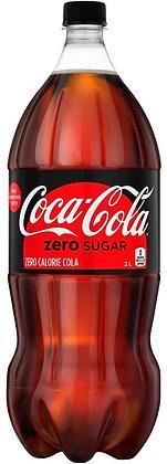 Coca-Cola Zero Sugar - 2 L Bottle