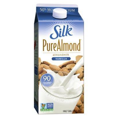Silk® Pure Almond Milk - 0.5gal