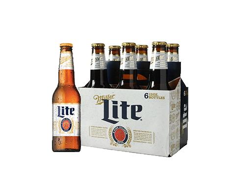 Miller Lite® Beer - 6pk / 12oz Bottles