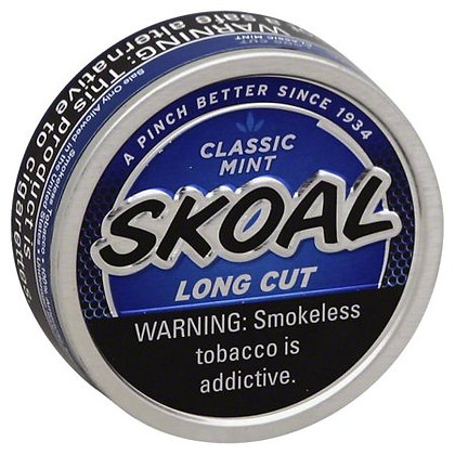 Skoal® Classic Mint Long Cut