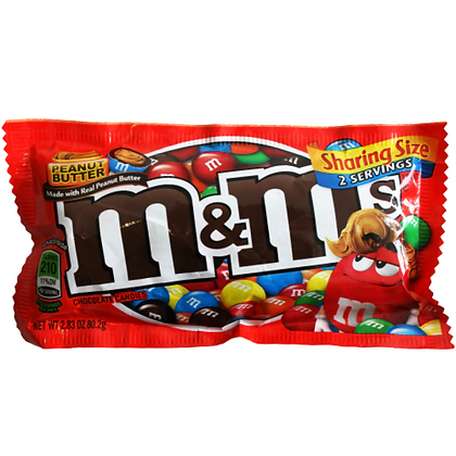 M&M's Peanut Butter Chocolate Candies - Sharing Size