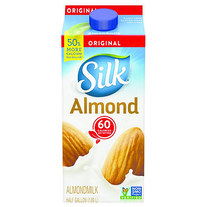 Silk® Pure Almond Original Almond Milk - 0.5gal