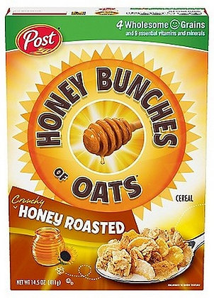 Honey Bunches of Oats Honey Roasted Breakfast Cereal - 14.5oz
