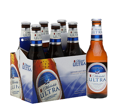 Michelob Ultra Light 6pk 12oz Bottles