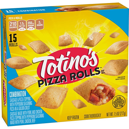 Totino's Combo Frozen Pizza Rolls - 15ct/7.5oz