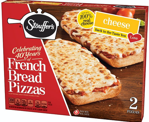 Stouffer's French Bread Cheese Pizza
