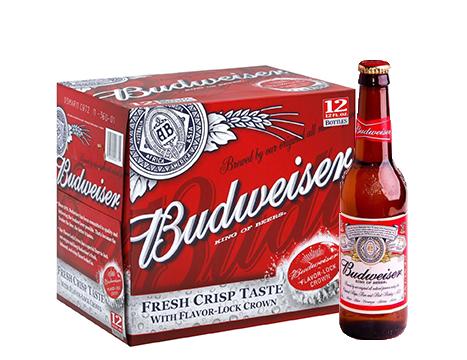 Budweiser® Beer - 12pk / 12oz Bottles