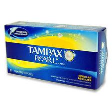 Tampax Pearl Regular Tampons 8 PK