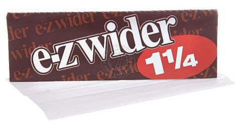 E Z Wider® 1 1/4 Rolling Papers