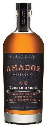 Amador Double Barrel Bourbon Whiskey - 750ml Bottle