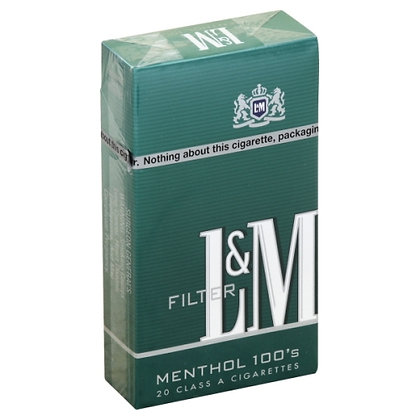 L & M Menthol 100s