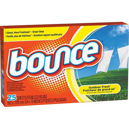 Bounce® Fabric Softener Dryer Sheets - 25ct