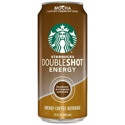 Starbucks Doubleshot Energy Mocha Fortified Energy Coffee Drink - 15 fl oz Can