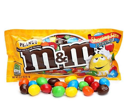 M&M's Peanut Chocolate Candies - Sharing Size