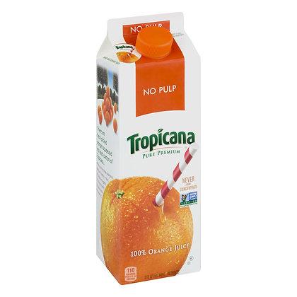 Tropicana Pure Premium No Pulp Orange Juice 32 fl. oz. Carton