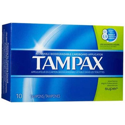 copy of Tampax Super Tampons 10 Count