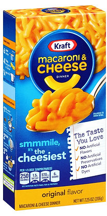 Kraft Macaroni & Cheese Dinner Original 7.25 oz