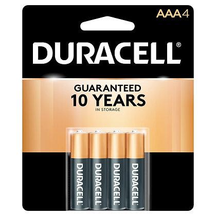 Duracell® 4pk Batteries - AAA-4