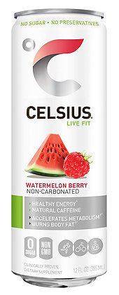 CELSIUS® Sparkling Watermelon Energy Drink - 12 fl oz Can