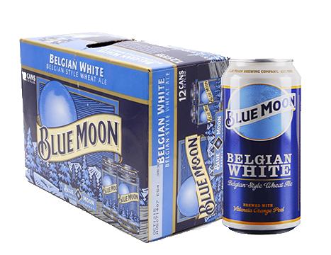 Blue Moon® Belgian White Wheat Ale - 12pk / 12oz Cans