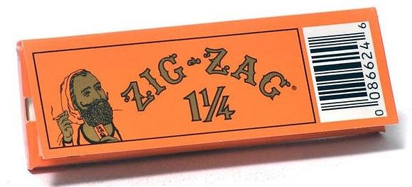 Zig Zag Orange 1 1/4 Rolling Papers