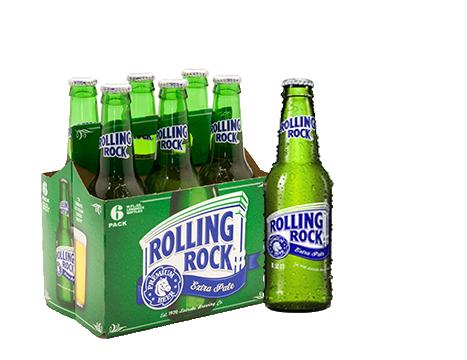 Rolling Rock® Beer 6pk / 12 fl oz Bottles