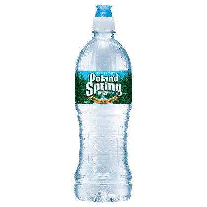 Poland Spring Brand 100% Natural Spring Water - 23.7 fl oz Bottle
