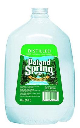 Poland Spring Distilled Water - 1 gal Bottle