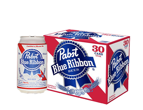 Pabst Blue Ribbon® Beer - 30pk / 12oz Cans