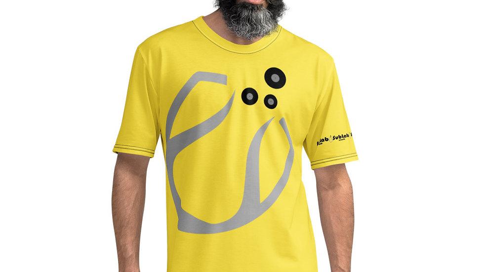 Sublab Records  Men's Large Print Logo T-shirt