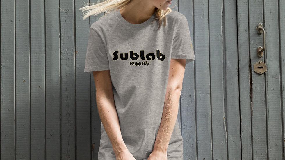 Sublab Records Organic cotton t-shirt dress