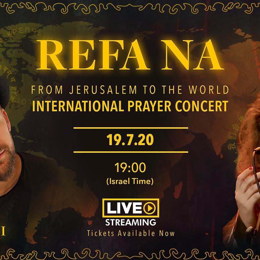 REFA NA- INTENATIONAL PRAYER CONCERT