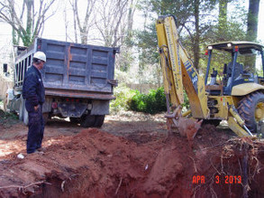 The success of a soil cleanup is not guaranteed. One to two truckloads is about all that can be removed on most residential properties.
