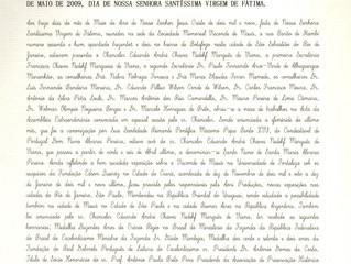 Reconnaissance officielle du Société Mémorial Vicomte de Mauá