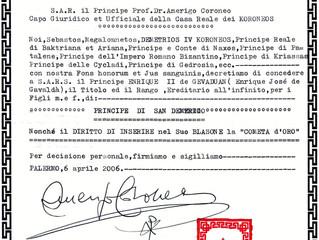 Titre de courtoisie post-mortem pour le prince Henri IIº Joseph de Gévaudan