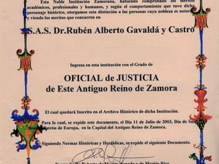 Rendez-vous à l'Estamento de Caballeros de Arias Gonzalo d'Espagne.
