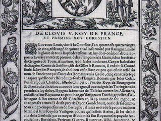 Clovis Rex Francorum