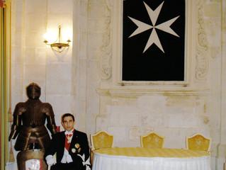 Visite de Son Altesse Royale Esteve IVº à l'île de Malte