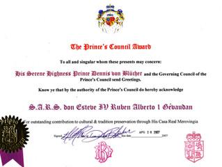 Reconnaissance du Conseil des Princes