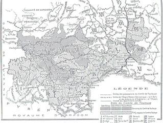 Comté de Toulouse et comté de Gévaudan