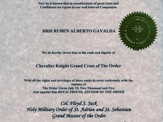 Ordre Saint et Militaire de Saint Adrien et Saint Sébastien