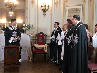 Nomination et consécration des barons de Terrier, Louvercy, Belestre et Sonastre.